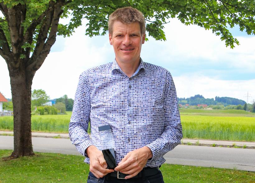 Vertriebsleiter Claus Guglhör